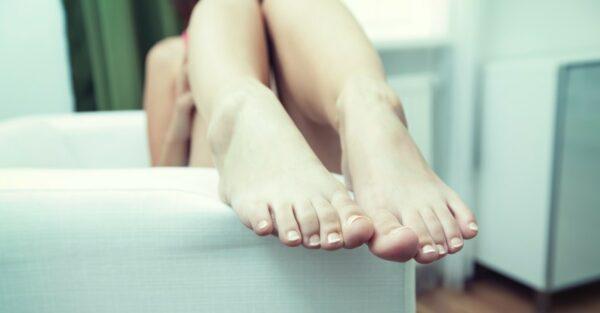 Schöne Füße mit Sanawell
