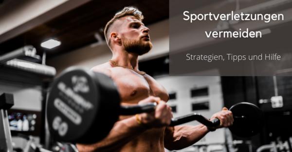 Nicht nur im Kraftsport, sondern auch in jeder anderen Sportart können Sportverletzungen den eigenen Fortschritt behindern.