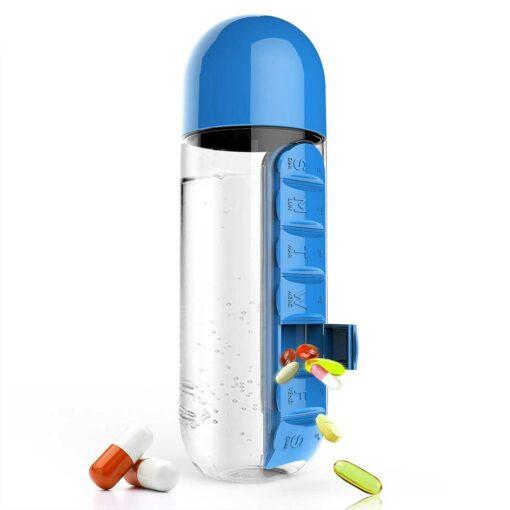 Pillendose,Tablettentransporter,Tablettendose,Pillenflasche