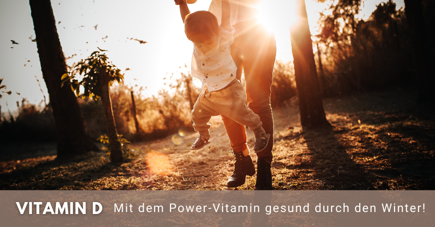 Sonnenschein ist essenziell für die Bildung von Vitamin D.